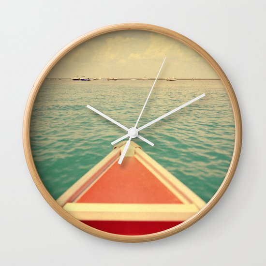 Mathilde #1 Wall Clock