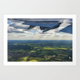 Leaving in search of Adventure Art Print