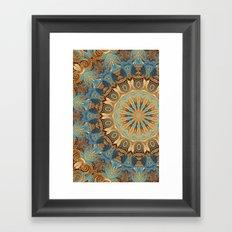 Havana Mandala Framed Art Print