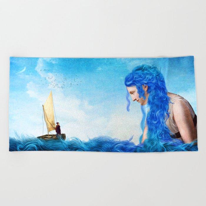Coming Home Beach Towel