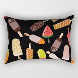 Take your pick of ice cream on a stick Rectangular Pillow