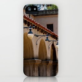 Row of lights iPhone Case