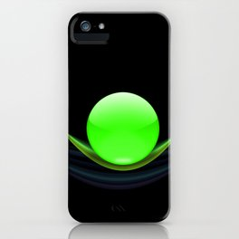 Green Ball iPhone Case