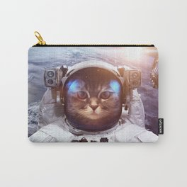 Cat in space Carry-All Pouch