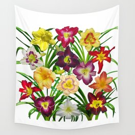 Display of daylilies I Wall Tapestry