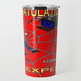 Trapped in the web Travel Mug