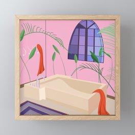 Bathed Framed Mini Art Print