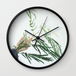 Interconnected III  Wall Clock
