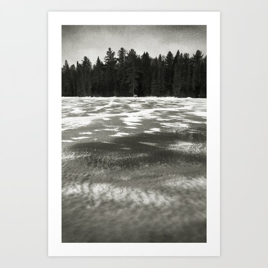 The Beaver Pond - Algonquin Park Art Print