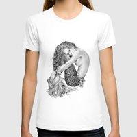 mermaid T-shirts featuring Mermaid by April Alayne