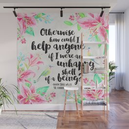 The Forbidden Orchid - How Could I Help Anyone? Wall Mural