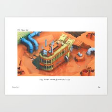 POP HELL #2 Art Print