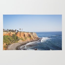 Point Vicente Lighthouse (color version) Rug