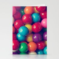 gumball Stationery Cards featuring Gumball Fun by Amelia Kay Photography