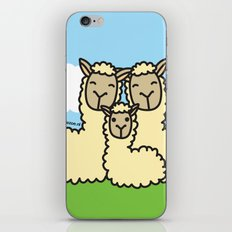 Lovely Llama's iPhone & iPod Skin