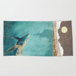 Light Beneath Beach Towel