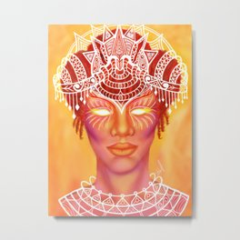 Goddess Empress Metal Print