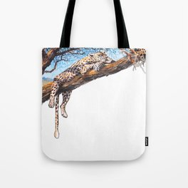 cool cheetah Tote Bag