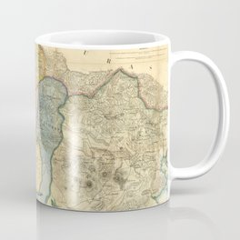 Vintage Map of El Salvador (1858) Coffee Mug