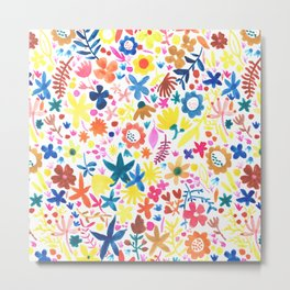 Autumm´s flowers Metal Print