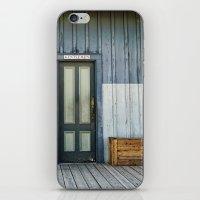 bathroom iPhone & iPod Skins featuring Bathroom Doors by Agrofilms