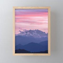 Monte Rosa Framed Mini Art Print