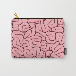 Guts or Brains - Pink Carry-All Pouch