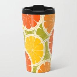 Orange, lemon and grapefruit Travel Mug
