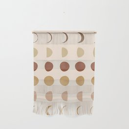 Flow of the Phases Wall Hanging