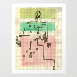 Woman_3 Art Print