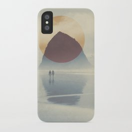 Haystack Rock of Cannon Beach, Oregon iPhone Case
