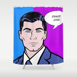 Archer Lichtenstein Shower Curtain