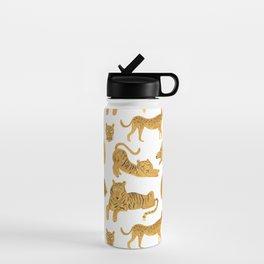 Tiger Lion Cheetah Water Bottle