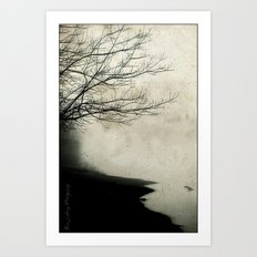 Into The Mystic Art Print