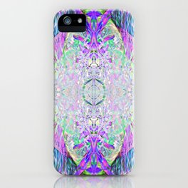 Crystal Dimension Codes iPhone Case