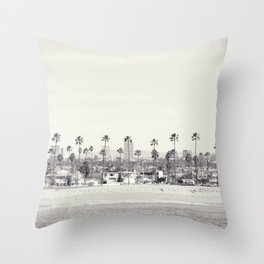 Winter in Santa Barbara  Throw Pillow