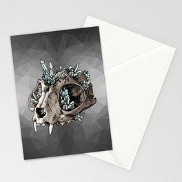 Crystalline Cat Stationery Cards