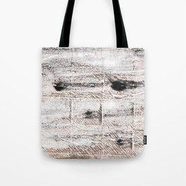Ghost white abstract watercolor Tote Bag