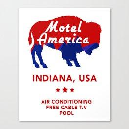 Motel America - American Gods Canvas Print