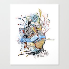 Mermaid Mantra Canvas Print