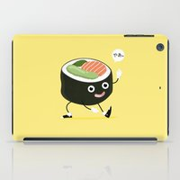 sushi iPad Cases featuring SUSHI by Céline Dscps