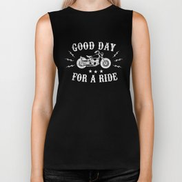 Motorcycle Biker Good Day For A Ride Gift Biker Tank