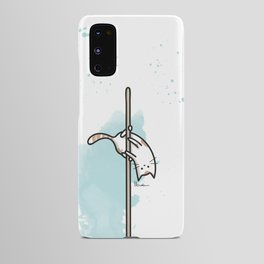 A PURRFECT POLE DANCER Android Case