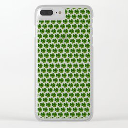 Greenery Cloves Clear iPhone Case