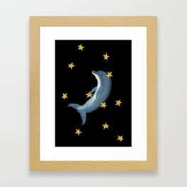 So long and thanks for all the fish Framed Art Print