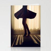 dancer Stationery Cards featuring Dancer by Kameron Elisabeth
