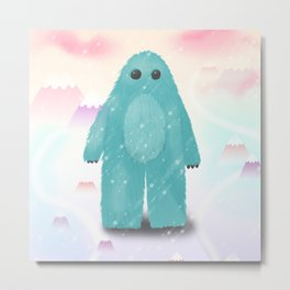 Snow monster Metal Print
