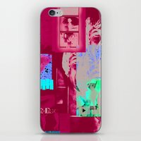caitlin hackett iPhone & iPod Skins featuring caitlin by tobetobe