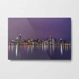 Chicago | Skyline Metal Print