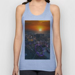 Sunset in Vegas Unisex Tank Top